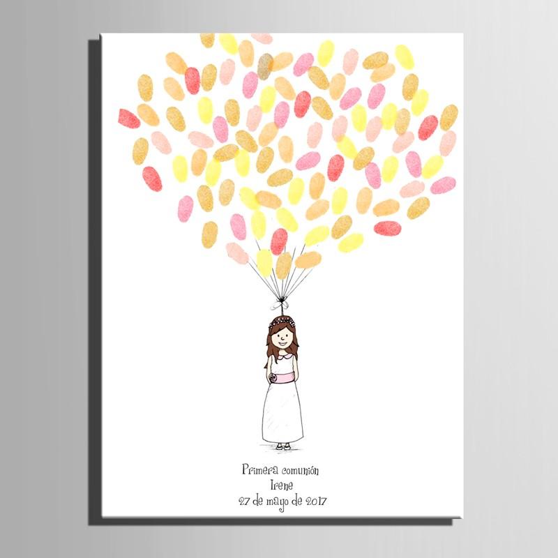 E-HOME Bride 3550CM холст фляжку подарок