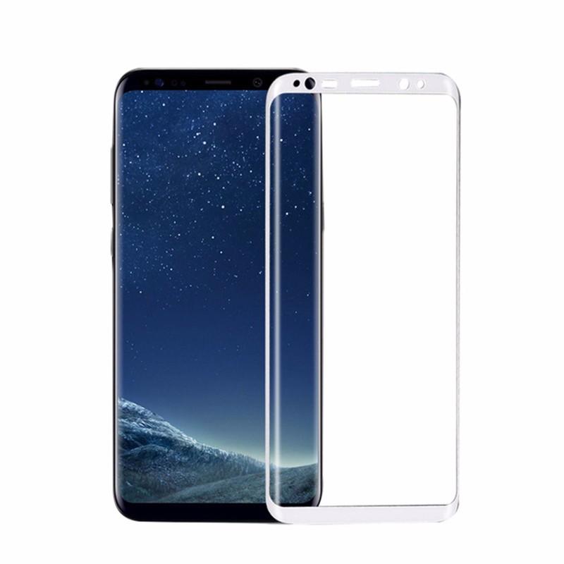 goowiiz белый Samsung Galaxy S8 пленка на экран samsung et fg950ctegru для galaxy s8