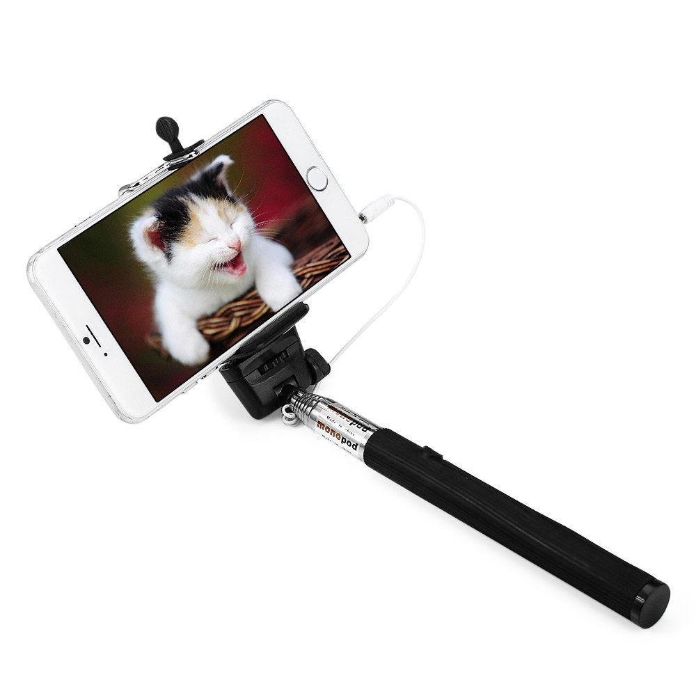 WE YOUNG WE DO Black штатив monopod z07 5 bluetooth black for selfie