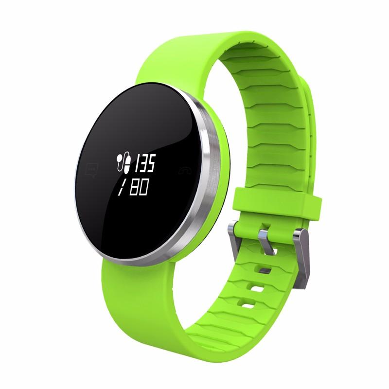 chkj зеленый Смарт-браслет sports men watch smart bracelet fitness tracker heart rate monitor wristband pedometer sleep monitor watch for android phone ios
