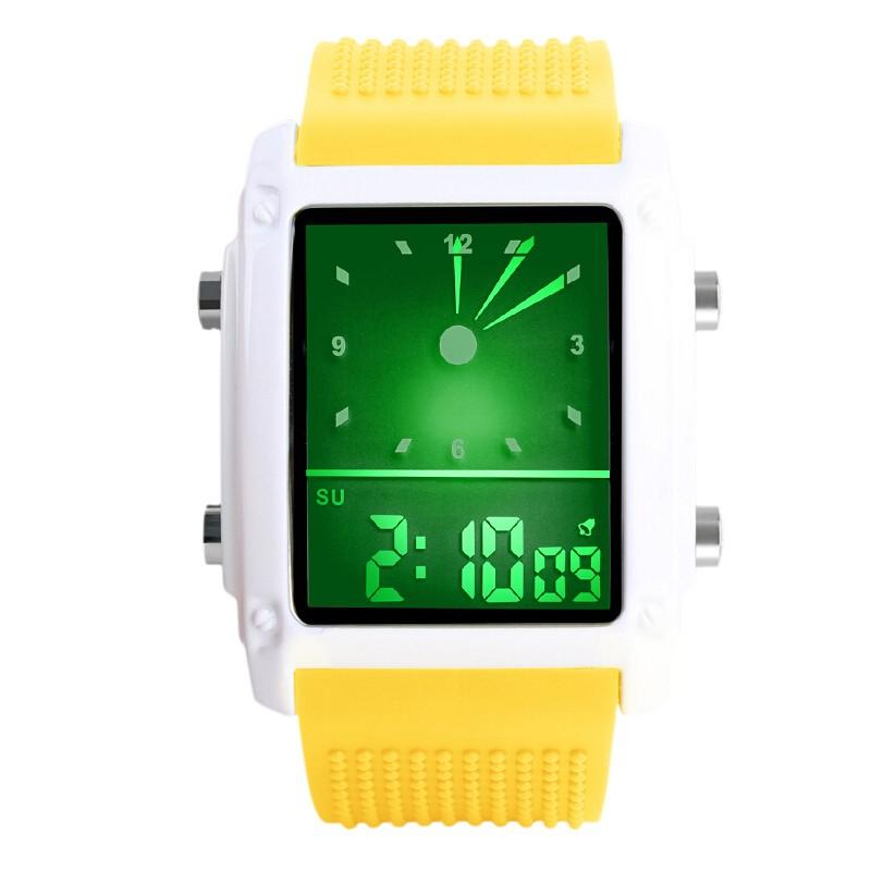 SKMEI Желтый skmei спортивные часы кварц желтый 9106