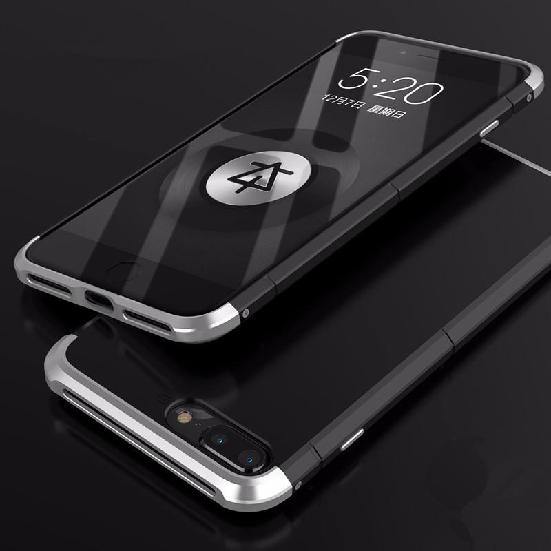 BOBYT Черное серебро iPhone 6 6s Plus baseus comfy series slim pp and pu leather hybrid phone case for iphone 6s plus 6 plus pink
