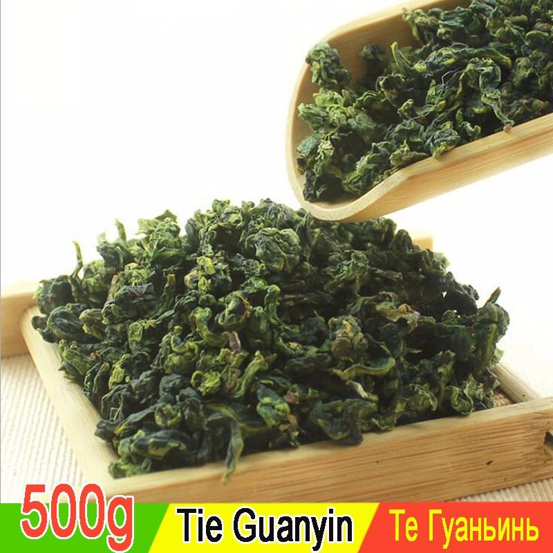 mcgretea 500g free shipping 100g super fragrant anxi tieguanyin new 2016 tie guan yin tea oolong tea tieguanyin oolong for health care food