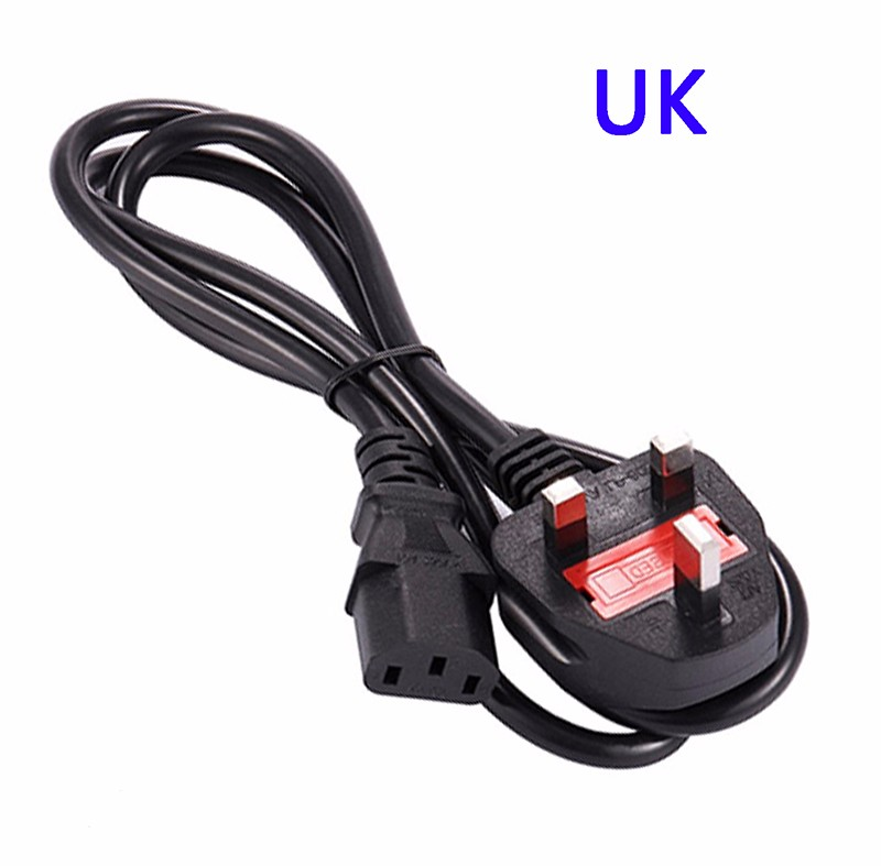 COOLM UK Plug aputure power adapter for light storm 1s 1c ls c120 led light pannel with eu au uk usa plug