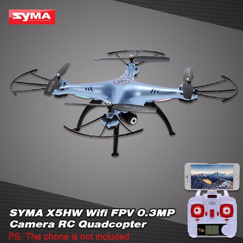 GoolRC Blue free shipping rc drone jjrc v686k 6 axis gyro 2 4g 4ch fpv quadcopter wifi ufo with hd camera airplane vs syma x8w h9d cx 30w