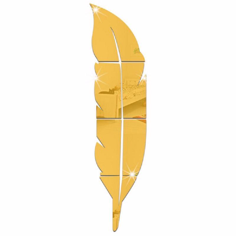 Зеркало этикет TOMSHINE Золотой цвет фото