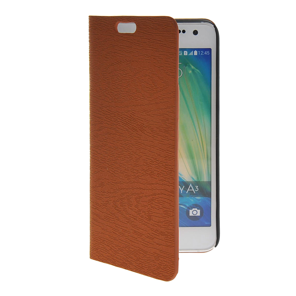 MOONCASE mooncase slim leather side flip wallet card slot pouch with kickstand shell back чехол для lg l bello d331 d335 beige