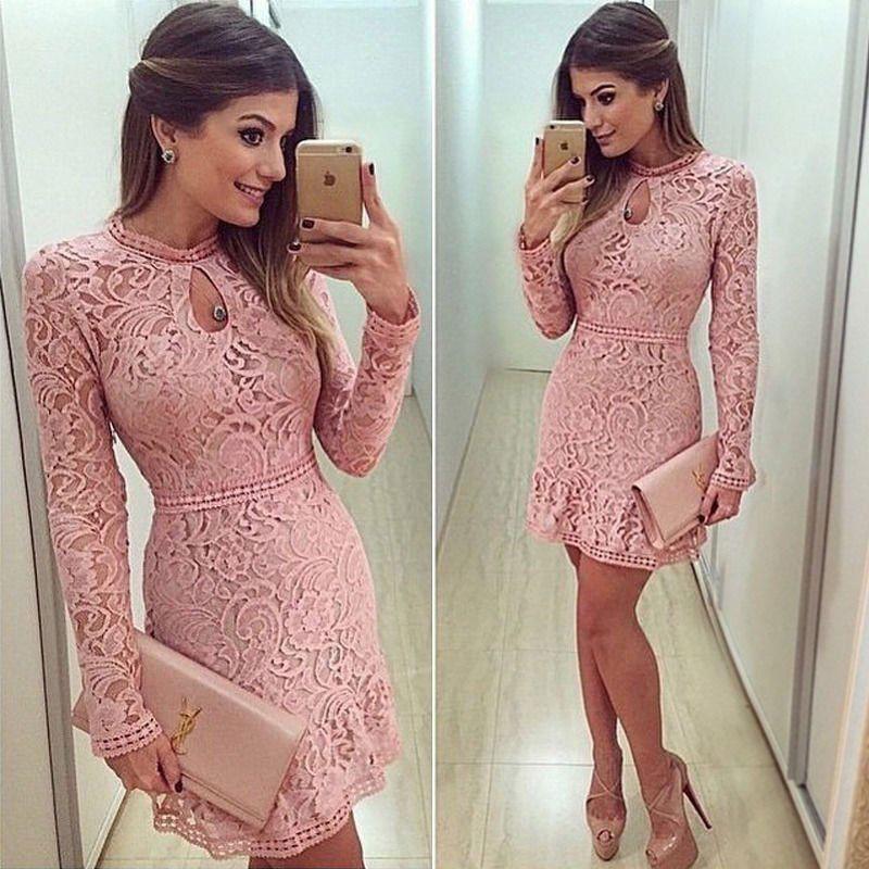 CANIS розовый M платье вечернее платье для девочек 20128 платье для девочек с длинным рукавом