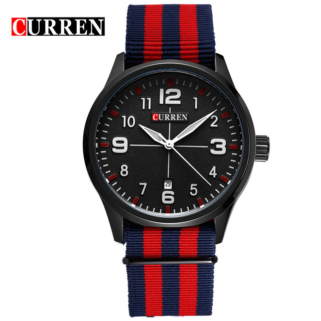CURREN 05 часы nixon porter nylon gold white red