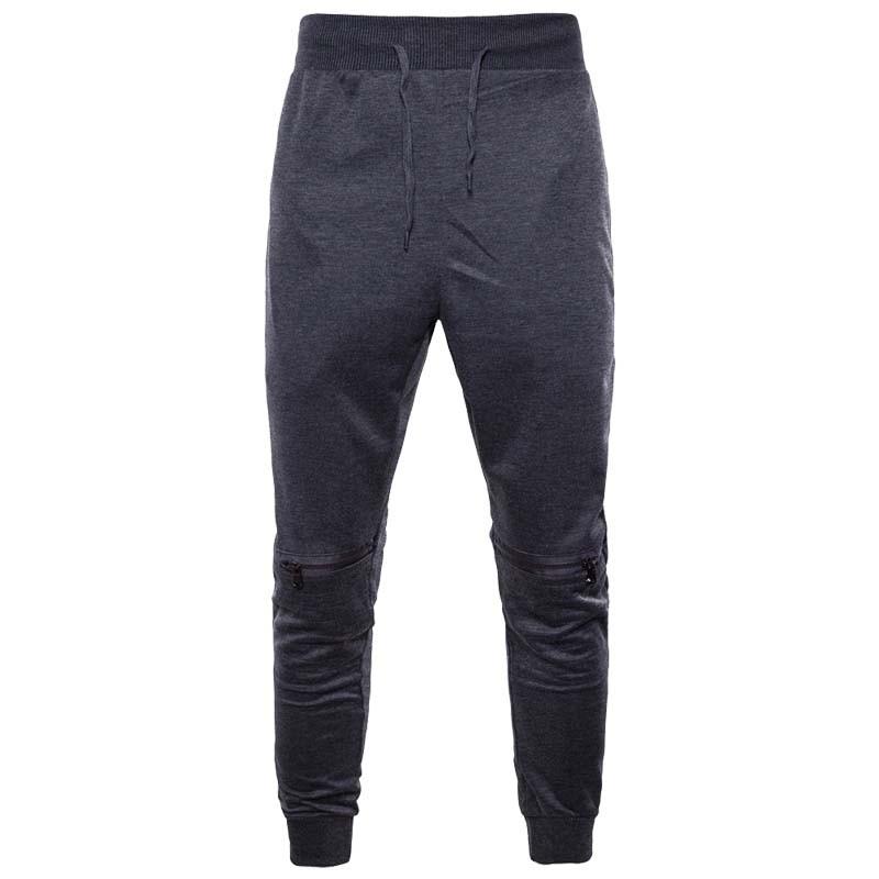 Mensfashionpant pantsmen Вскользь брюки брюки гарем брюки Мужские брюки Xuanxuan diary Глубокий серый XS фото