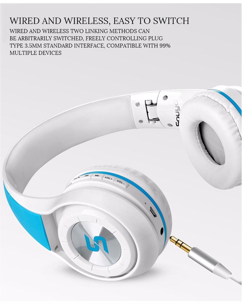 yuerlian Белый наушники наушники bluetooth earpphones n9009