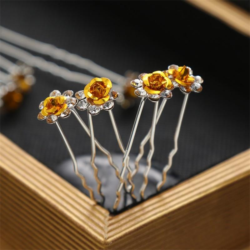 CXSHOWE Жёлтый заколки шпильки для волос buytra diy 10 sh hb 842 m