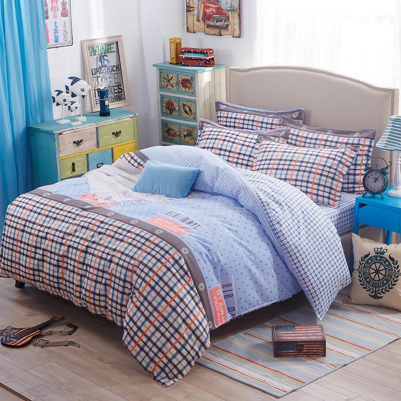 BAOLISI Небесно-голубой Односпальное текстиль для дома