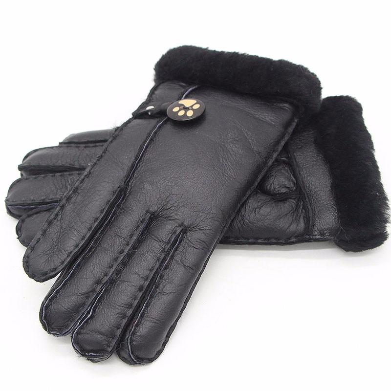 FURART Black Один размер корейский ручная роспись мило женские зимние перчатки exo марк о се хун половина пальцев перчатки 2 пакет почта