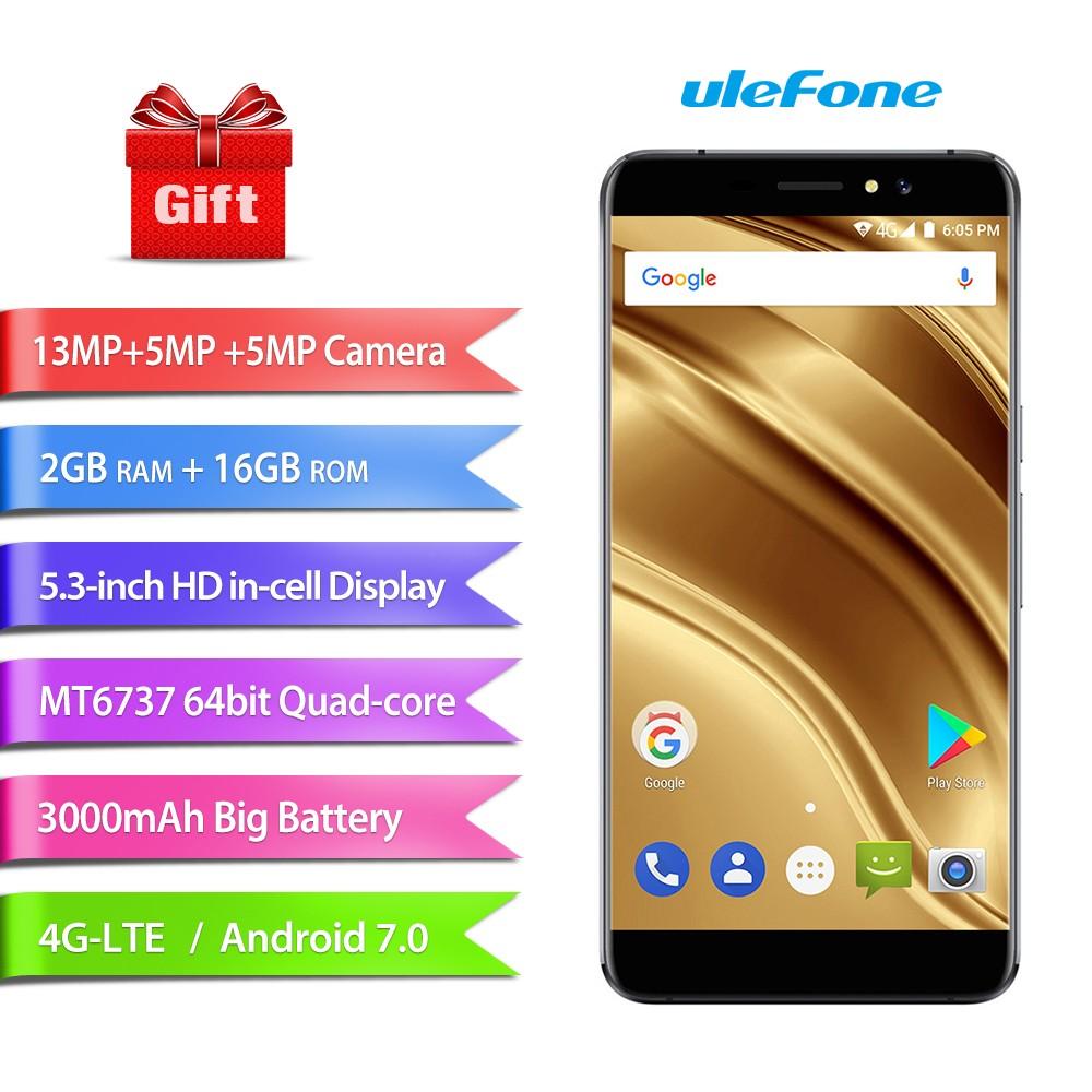 Ulefone черный мобильный телефон godonie 4 7 4g s8 800