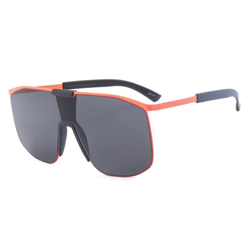 SHAUNA Оранжевый черный объективы и линзы