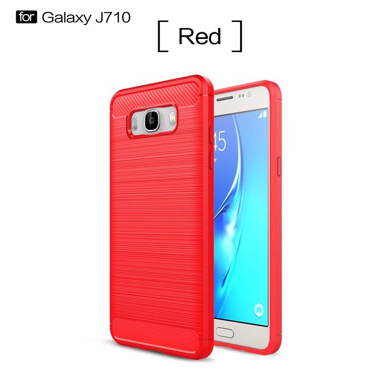 KYKEO Красный Samsung Galaxy J7 2016 J710 samsung galaxy j7 j710 2016 gecko 0 26mm zs26 gsgj7 2016