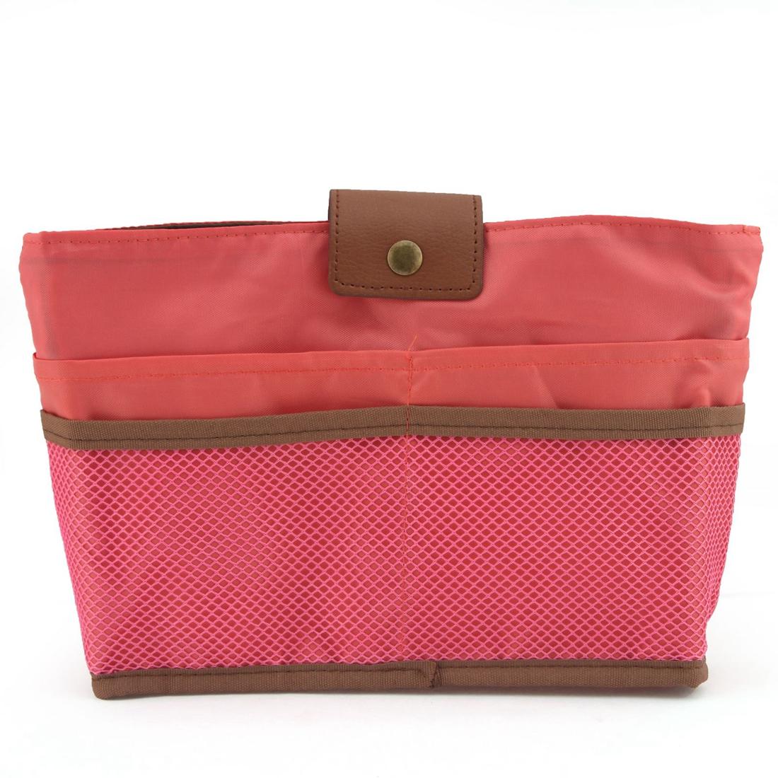 NicerDicer Красный цвет женская сумка организатор поездки функцию хранения дело по телефону косметические нуждается в темно красный