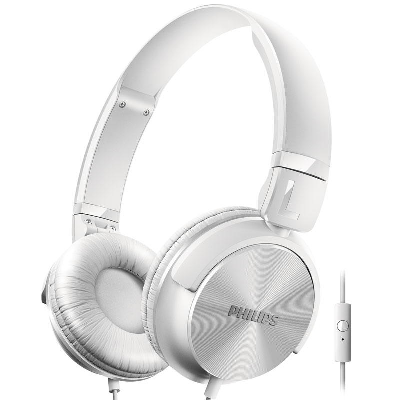 PHILIPS Белый M1 гарнитура philips she3555 white
