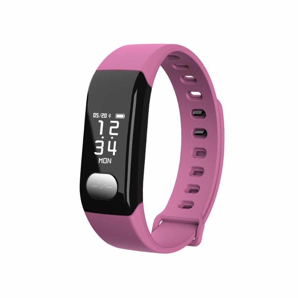 все цены на HRAEFN Розовый Смарт-браслет онлайн