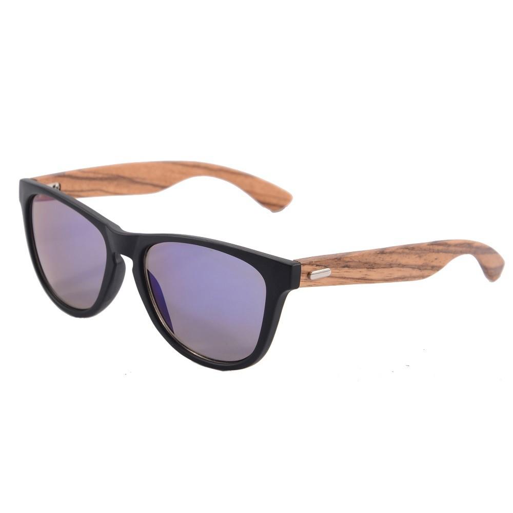 SHINU матовая черная рамка зебра ножки голубые линзы солнцезащитные очки tomas maier солнцезащитные очки