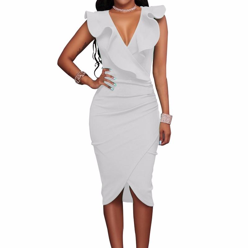 Платье платья выпускного вечера платья платья платья венчания платья выпускного вечера платья выпускного вечера SAKAZY белый S фото