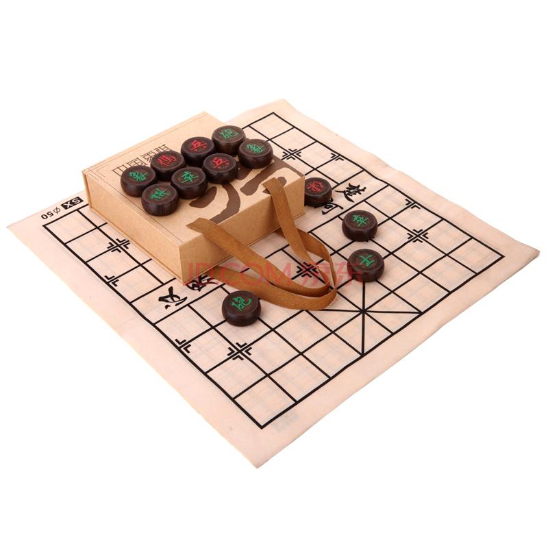 Huasheng Черное дерево шахматы 5,0 см Один размер