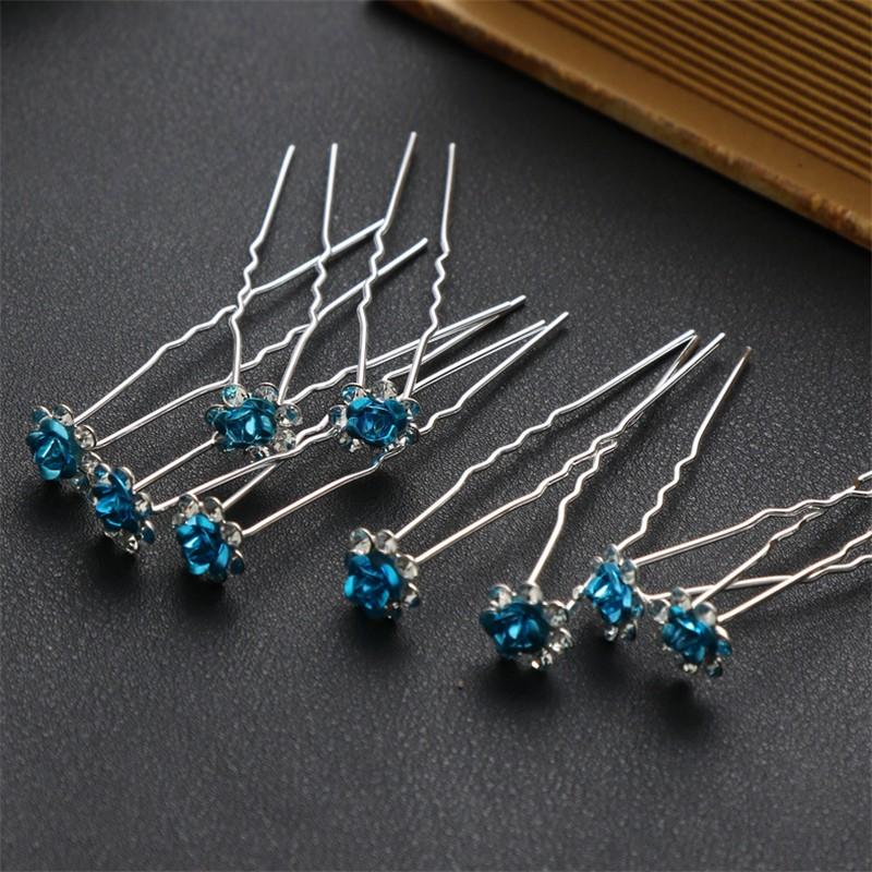 CXSHOWE Светло-Синий заколки шпильки для волос buytra diy 10 sh hb 842 m
