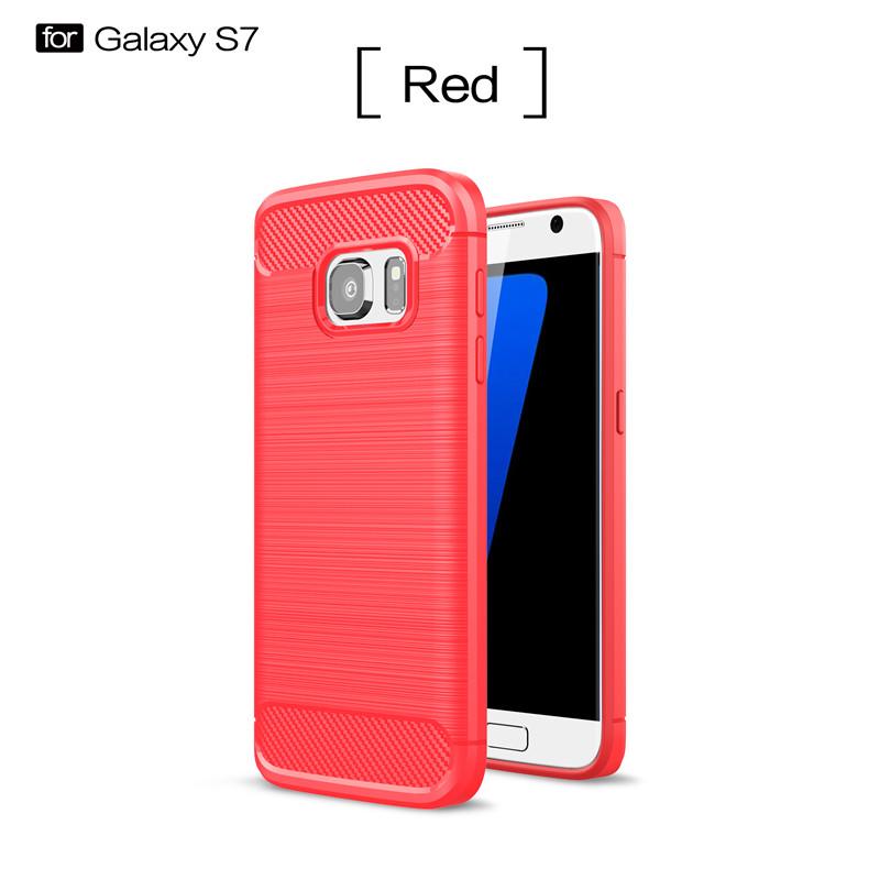 KYKEO Красный Samsung Galaxy S7 ultra slim clear phone cases for samsung galaxy s6