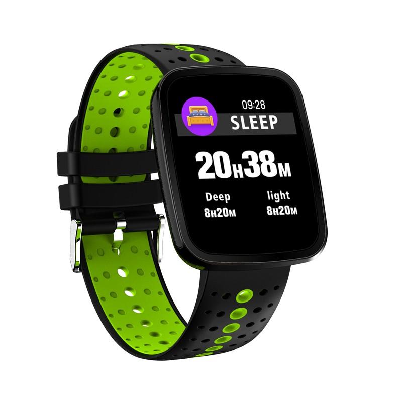 Smart Watch y8 умный браслет 8 умный браслет y2 умный браслет louis will Зеленый Черный Смарт-браслет фото