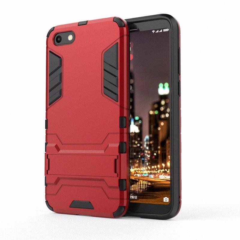 WIERSS красный Ударопрочный жесткий чехол для телефона Huawei Y5 Prime 2018 Y5 2018 DRA-L02