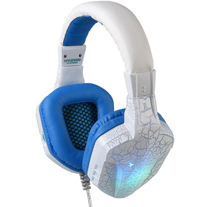 HYUNDAI A700MV Белый Синий  Светодиодная лампа круто дефолт