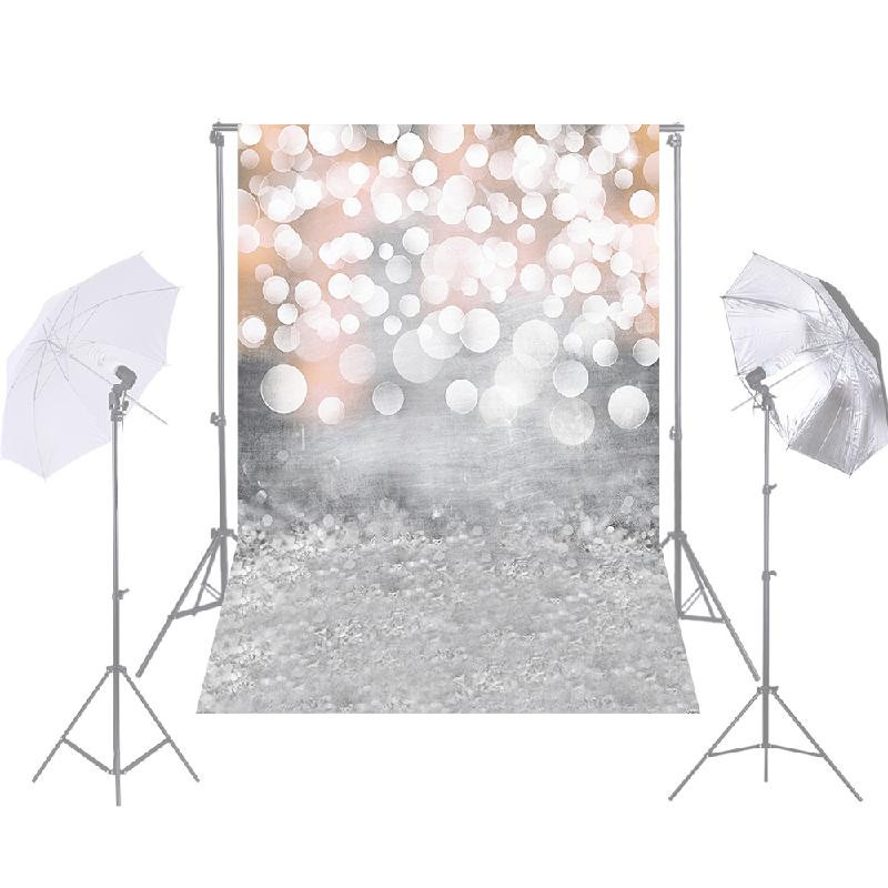 ANDOER Серебряный snow road winter style old master photography backdrops for newborn digital printed background for photo studio fotografia