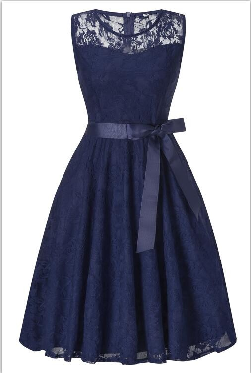 Платье для выпускного вечера малыш платье Purplish Blue M фото