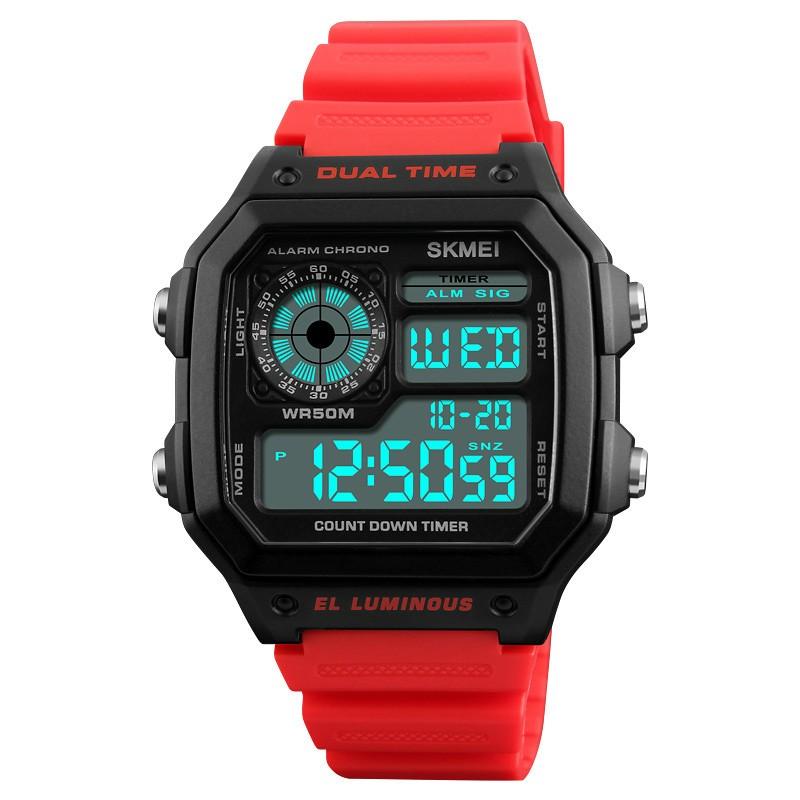 SANDN красный мужские часы mikhail moskvin gepard 1238a11l1