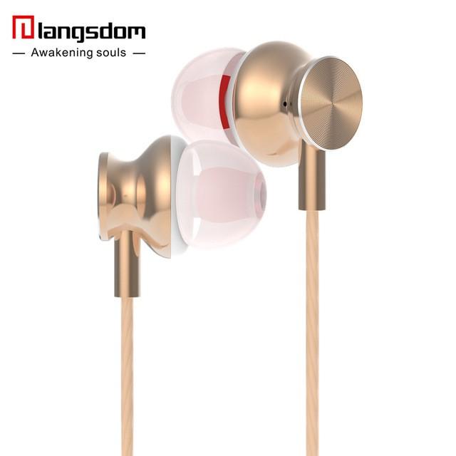 langsdom Золото langsdom jd88 super bass in ear headphones 3 5mm jack wired earbuds