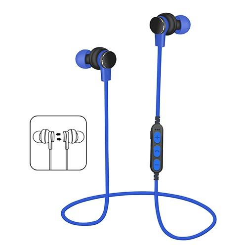 yuerlian Синий цвет наушники браги даш двойной беспроводной bluetooth гарнитуры спортивные наушники монитор сердечного ритма смарт встроенный 4g памяти ear black