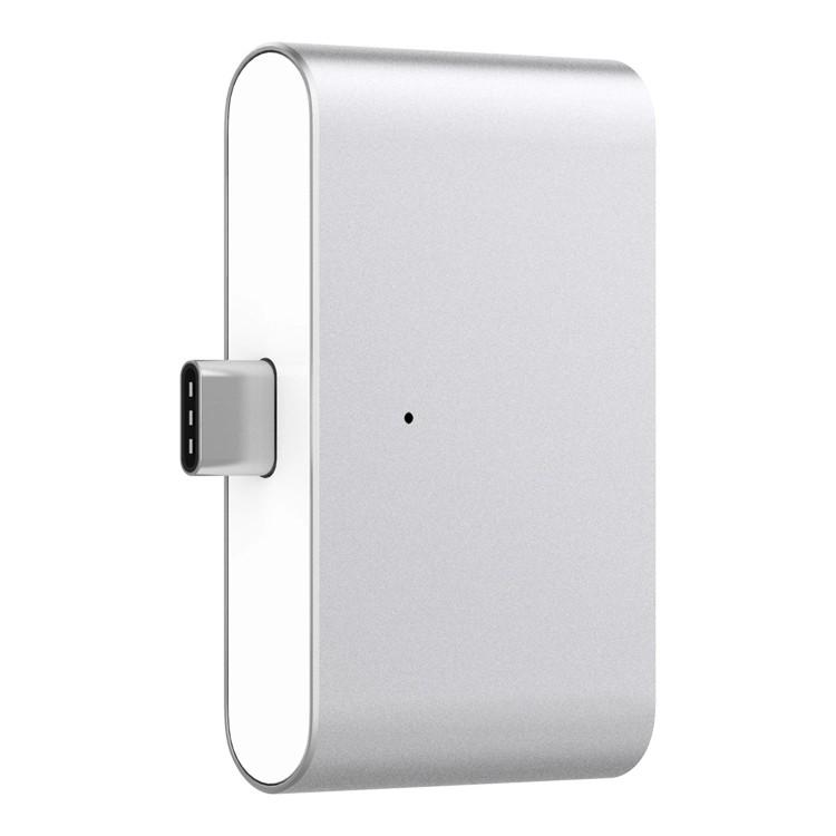 KRJ Серебряный mo миши momax type c конвертер hdmi usb c поддержка расширения адаптер apple macbook huawei подключенный телевизор проектор серебряный mate10