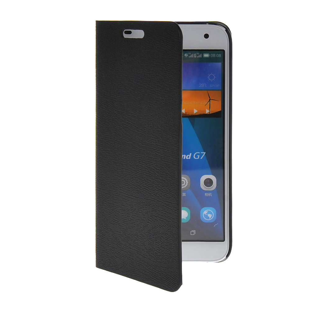 MOONCASE mooncase чехол для huawei ascend p8 wallet card slot with kickstand flip leather back white