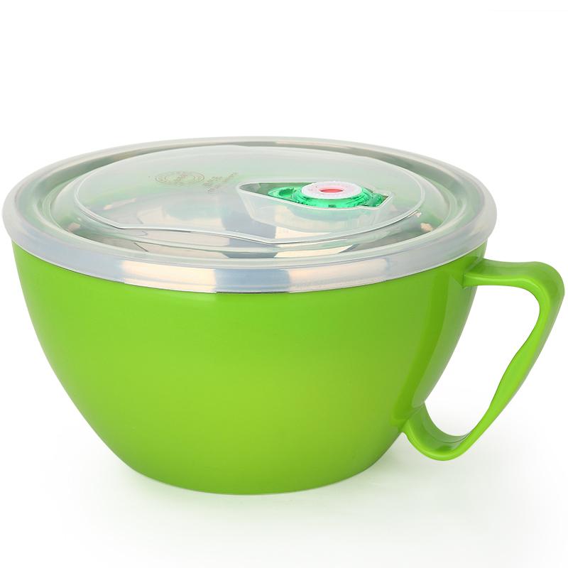 JD Коллекция 1200 мл зеленый миску лапши быстрого приготовления дефолт joycollection