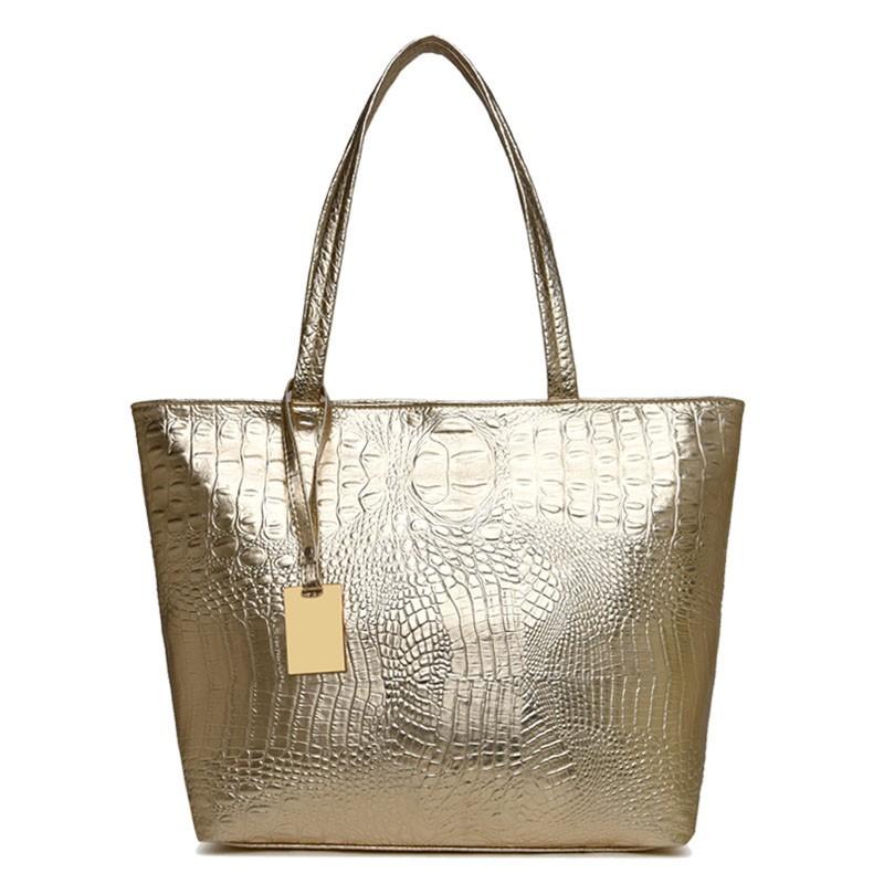 HANEROU Золото hong hyun детей xiasuar новую волну женщин сумки дамы моды сумки большой мешок pu женщин синглов сумка сумка черный