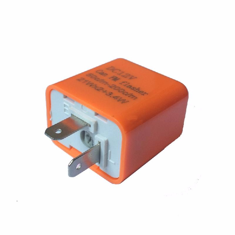 meterk oRange1 2pcs cf18 kt led flasher 8 pin adjustable relay module fix auto car signal error flashing blinker 81980 50030 06650 4650 150w