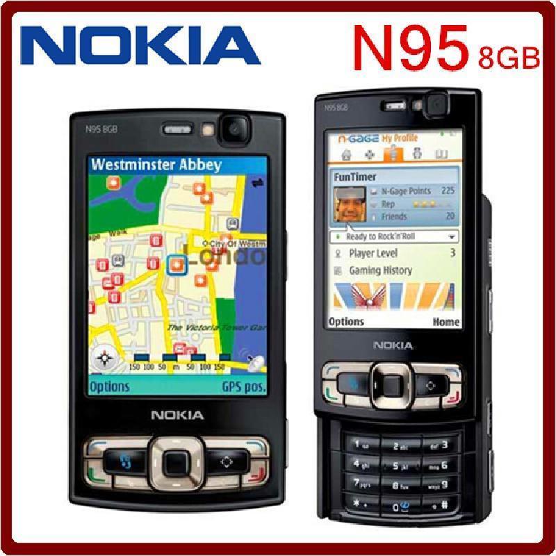 Tissbely Black Оригинальная камера хранения N95 8GB 5MP