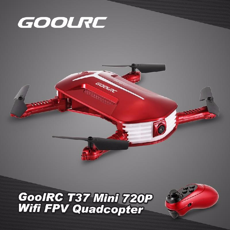 GoolRC Red free shipping rc drone jjrc v686k 6 axis gyro 2 4g 4ch fpv quadcopter wifi ufo with hd camera airplane vs syma x8w h9d cx 30w