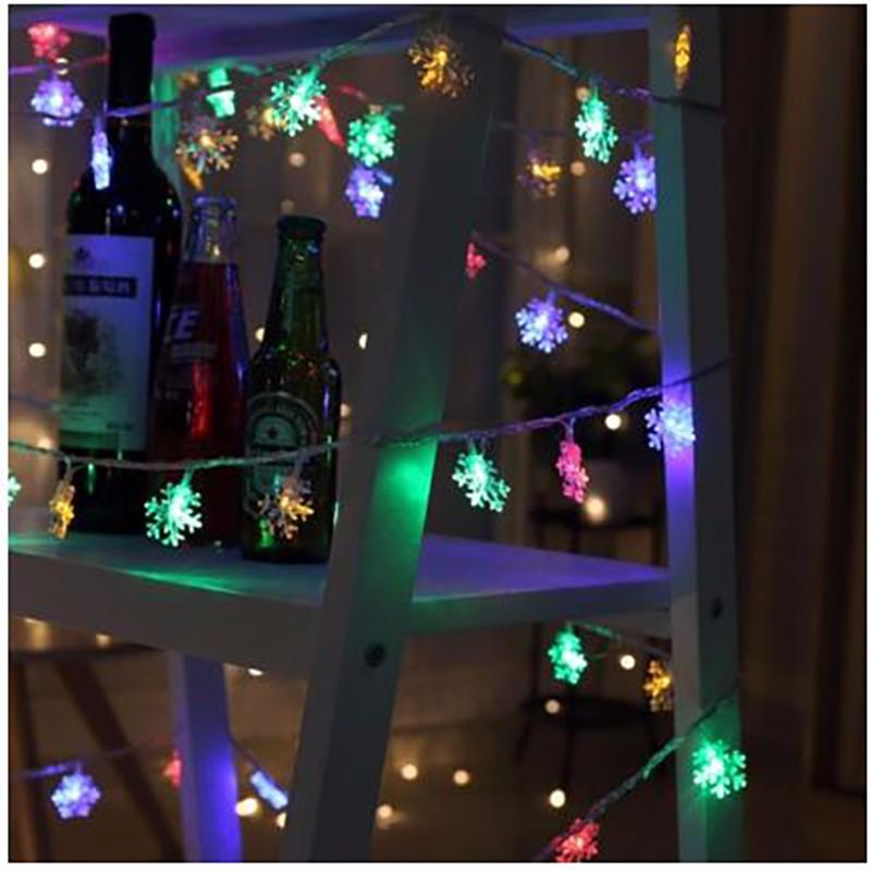 LUOMU Multi-Color 10 M 100 LED EU Plug