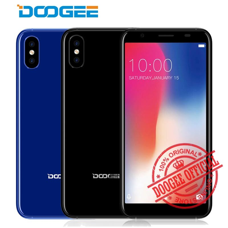 DOOGEE Черный смартфон