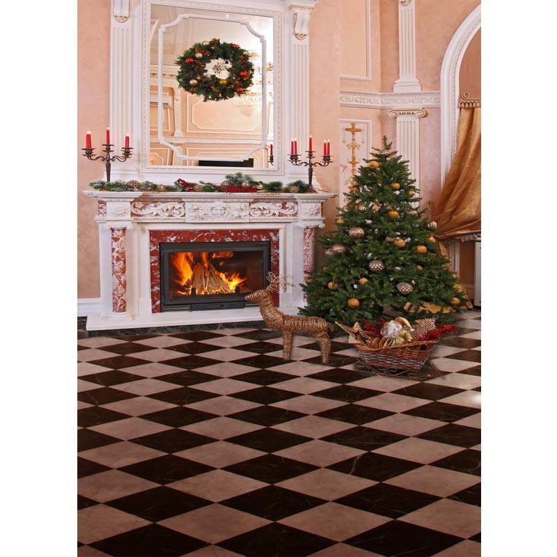 JOYOCHFOTO красный 5 7ft backdrop christmas backgrounds new year noel wood ball angel horse xmas photocall vinyl color newborns