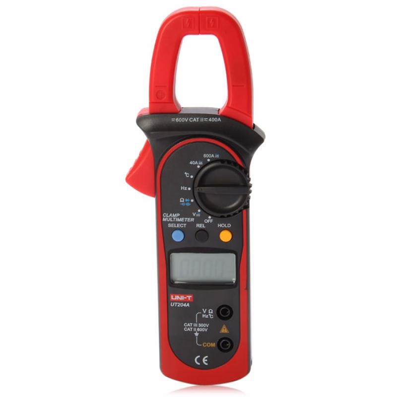 GBTIGER Red uni t ut204a lcd digital clamp multimeter