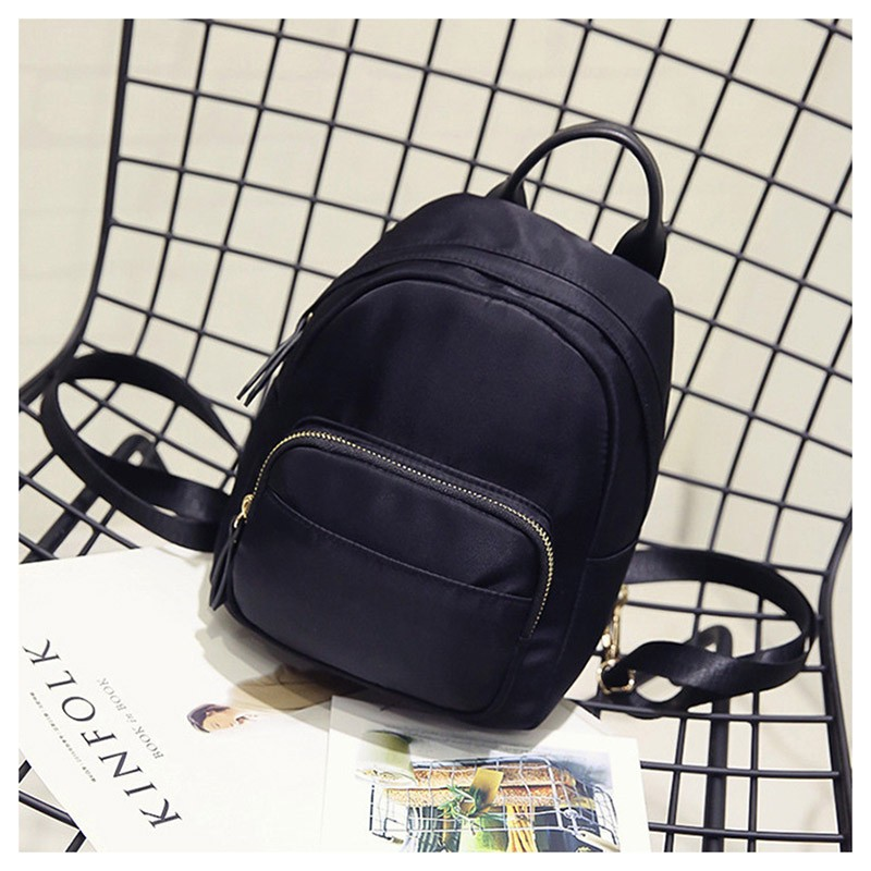 SMOOZA черный Один размер angel voices fashion women backpack youth genuine leather backpacks for teenage girls female school shoulder bag bagpack mochila