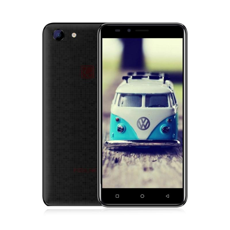 GBTIGER Black bluboo d2 3g smartphone 1gb ram 8gb rom двойные задние камеры 5 2 дюймовый android 6 0 quad core mtk6580a